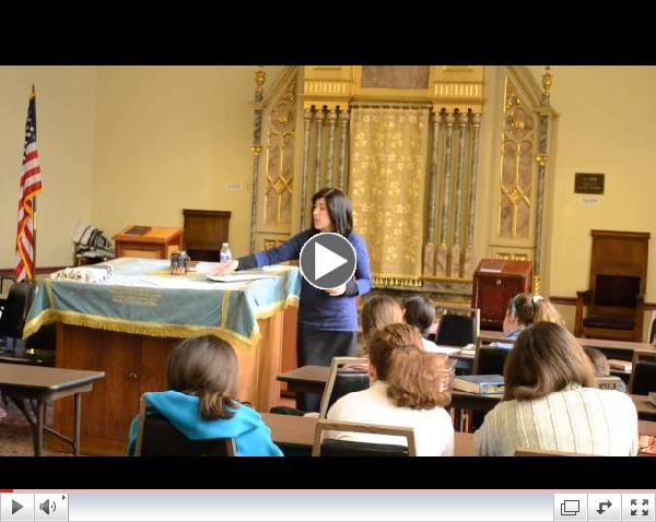Middle School Girls Shiur with Mrs. Apfel