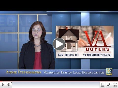 VA Buyers - Form 22 AD and VA Amendatory Clause