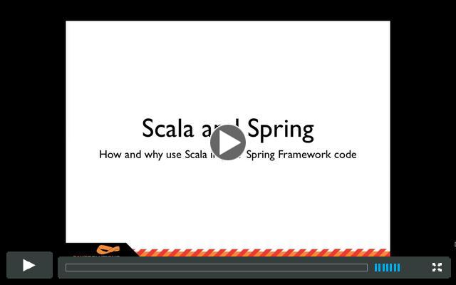 Spring in Scala Webinar - Jan Machacek