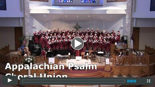 Appalachian Psalm by Tom Lough/Arr. Jon Paige