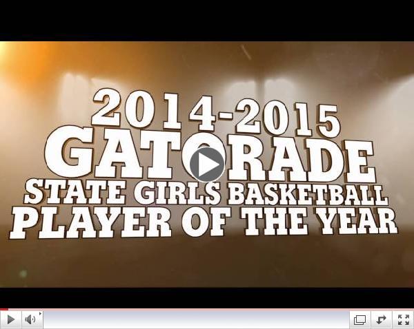 2014-2015 Gatorade GBB Player of the Year - South Carolina