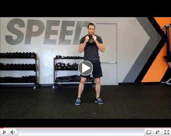 SpeedX CrossFit Techniques | Kettlebell Goblet Squat