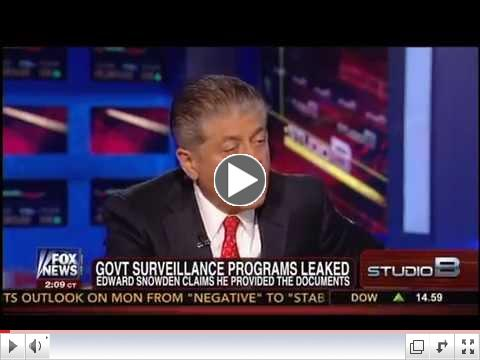 Judge Napolitano To Shep Smith: NSA Leaker An 'American Hero' Who Exposed 'Extraordinary Violations'