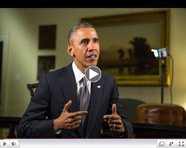 Weekly Address: Climate Change Can No Longer Be Ignored