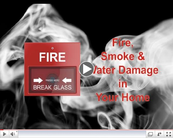 Fire, Smoke & Water Damage in Your Property