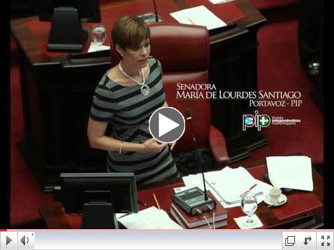 Turno Inicial-Senadora María de Lourdes Santiago-  Uso de cannabis medicinal