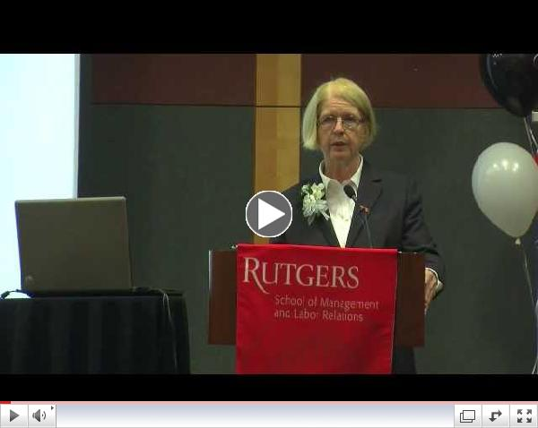NJ Health Care Industry Week - Susan J. Schurman, Ph.D.