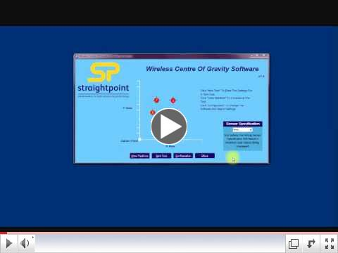 Straightpoint New Center of Gravity Software