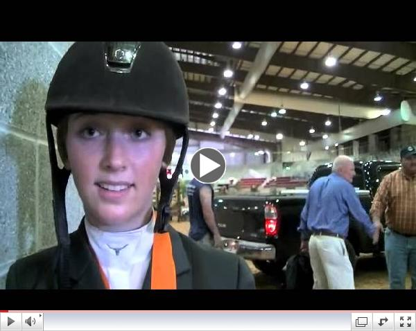 ASPCA Maclay Second Place - Haley Waters