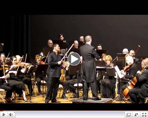 Tchaikovsky Violin Concerto 1st mov. Edwin E. Kim Soo, SASO, Linus Lerner