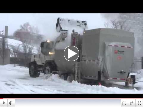 Snow Melter at Work