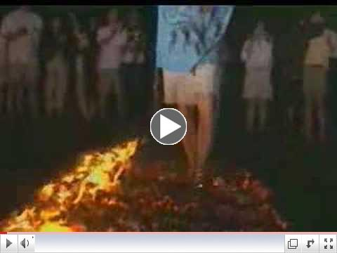 Tolly Burkan and FireWalking