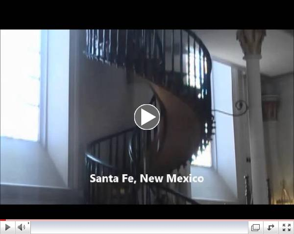 The Miraculous Staircase of the Loretto Chapel