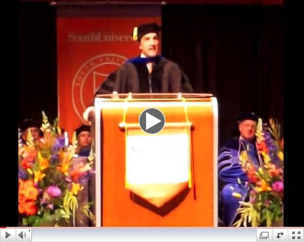 South University Commencement Speech 2014