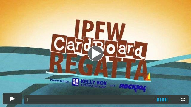 IPFW Cardboard Regatta presented by Kelly Box & Packaging and ROCK104