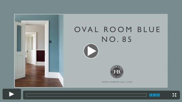 Farrow _ Ball Oval Room Blue No. 85