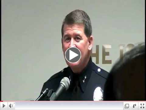 Michael Downing, LAPD Counter-Terrorism Deputy Chief, ISOC Townhall