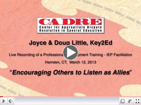 FIEP Training: Encouraging Others to Listen as Allies