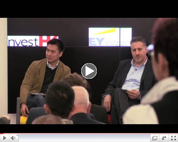 Silicon Dragon London 2014, Keynote Talk: Lord Wei with Level 39's Eric Van der Kleij