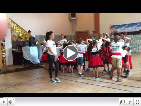 Tarantrella Groups # 3 & 4 | The Tarantella Dance Part 1 | Casa Italia Summer Camp | July 20, 2018
