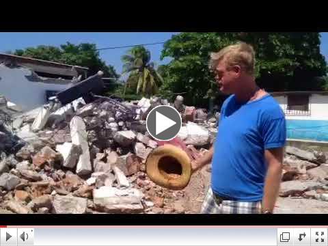 RWF earthquake aid update from Oaxaca, Mexico.