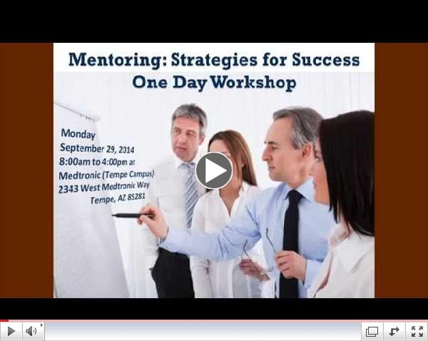 Mentoring: Strategies for Success (one day program)