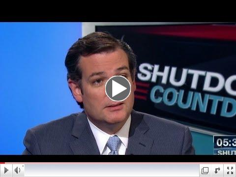 Ted Cruz: House ought to pass several continuing resolutions