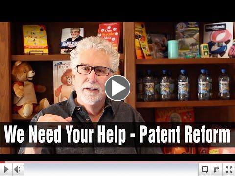 Stephen talks about patent reform