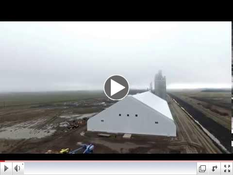 Gladstone 160' x 450' Genesis Building Series Drone Video