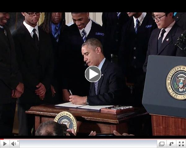 President Obama Speaks on the My Brother's Keeper Initiative