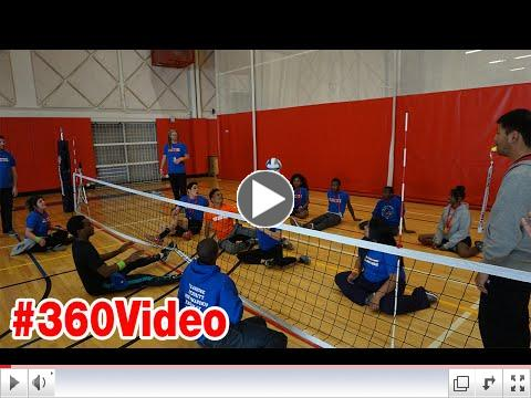#360video from the GSD Playmakers 2016 - Sitdown Volleyball