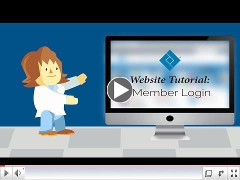 Member Center Login Tutorial