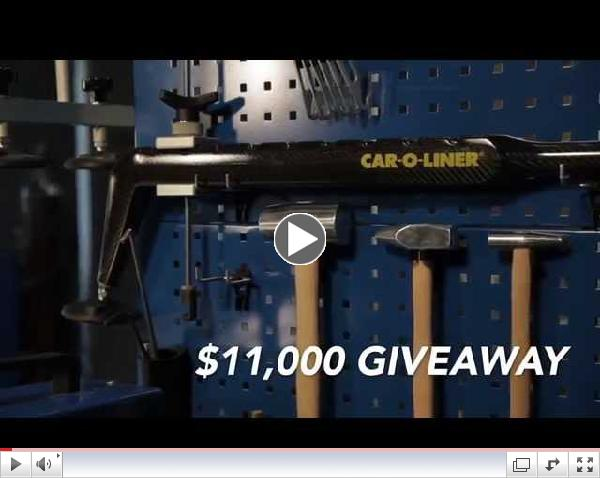 SCRS Ultimate SEMA 2014 Giveaway with Car-O-Liner
