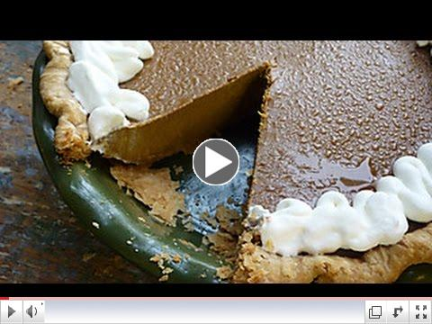 From-Scratch Pumpkin Pie