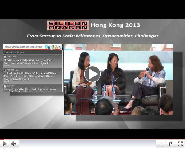 Silicon Dragon Hong Kong 2013 - Venture Capital & Dealmaker Panel