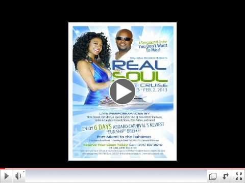 REAL SOUL MUSIC CRUISE COMMERCIAL 2013