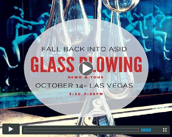 Domsky Glass Blowing Demonstration