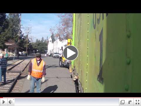 Orchard Supply's Boxcar Moves to History San Jose