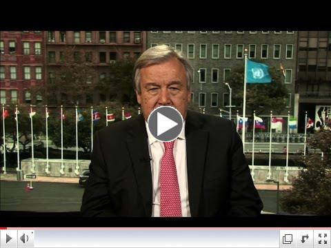 Guterres: 'Moral obligation' to stop war in Syria/ CNN