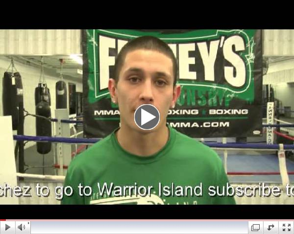 Andrew Sanchez Warrior Island Tryout Video for Global Proving Ground