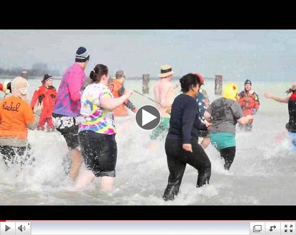 Chicago Special Olympics Polar Plunge: Hawthorne Race Course & Agency 360