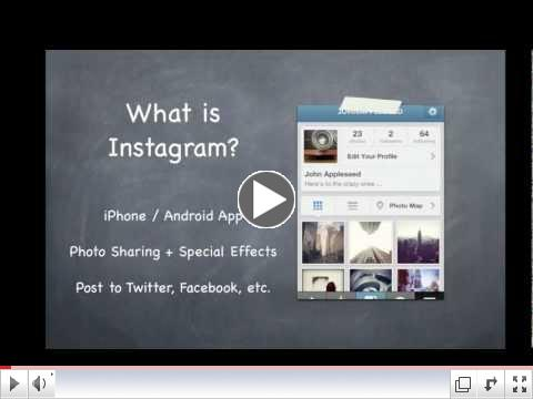 Instagram Tutorial for Youth Sports Organizations