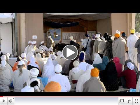 2012 Summer Solstice Gurdwara - Kirtan played by Narinder Singh Ji