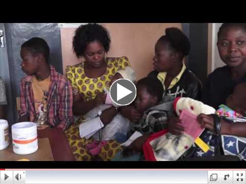 Red Means Go at Pediatric Wards in Southern Malawi/ VOA