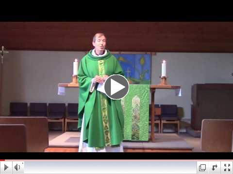 Pr. Steve's Sermon: It's Not a Rhetorical Question