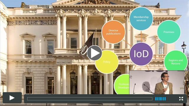 Digital Transformation at the IoD
