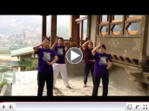 World Tai Chi Day 2012 in Bhutan.flv