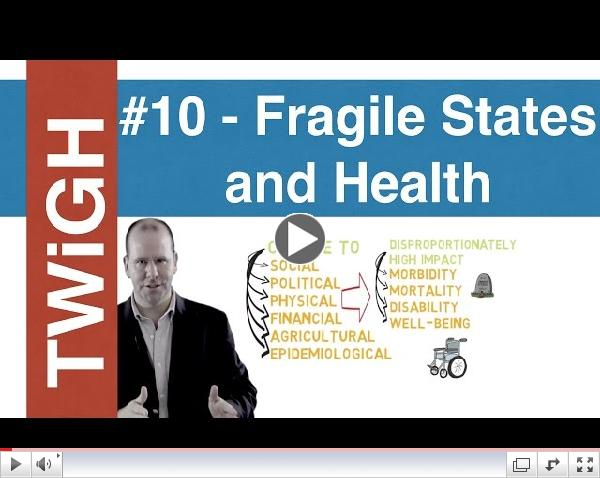 Fragile states and  global health