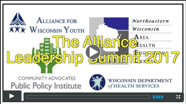 Alliance for Wisconsin Youth Leadership Summit 2017