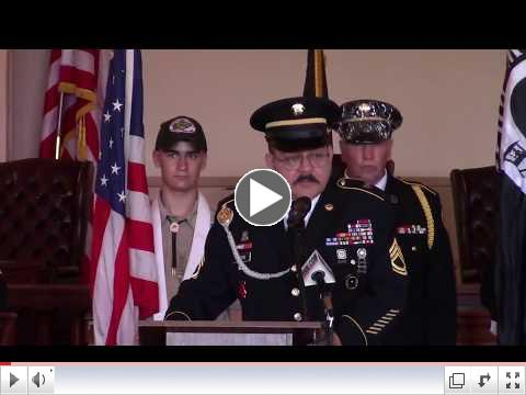 Video of 2017 Memorial Day Ceremony Provided by The Kingston News